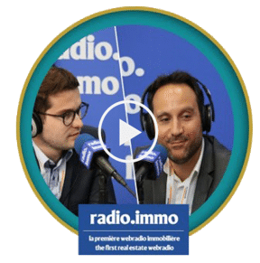 Photo de l'interview de Radio Immo
