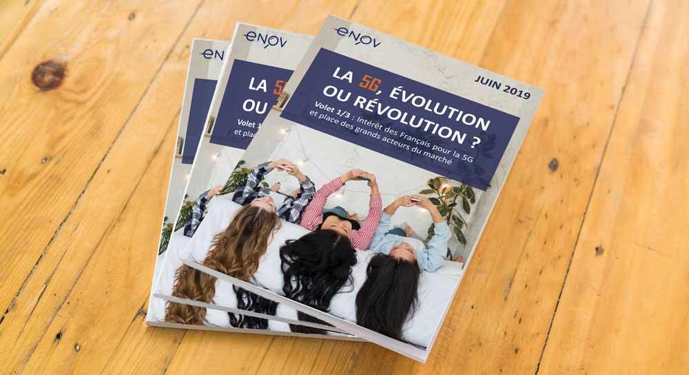 Photo du Livre Blanc d'Enov Observatoire 5G Volet 1