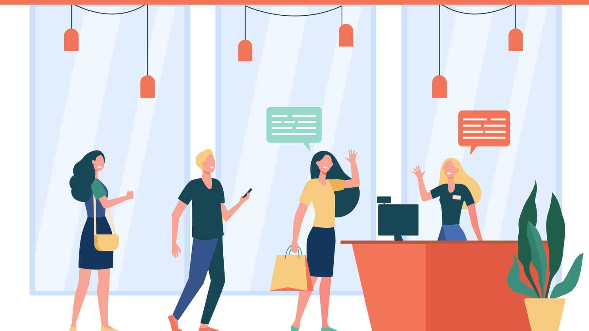 Expérience client en magasin